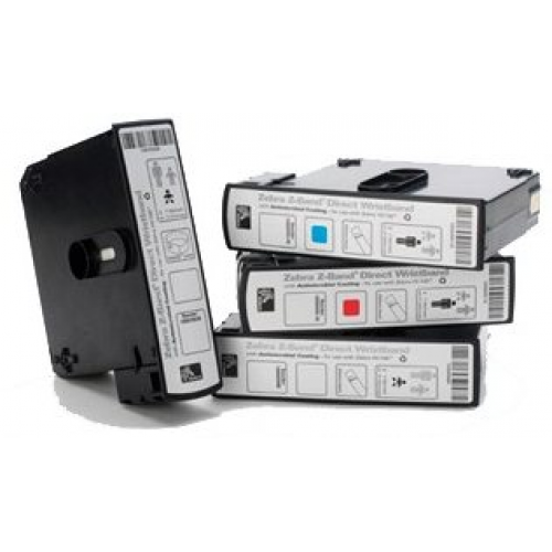 Zebra 10006995K HC100 Cartridges Z-Band Direct Adult Wristband Kit