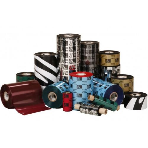 Zebra 03400BK17445- 174mm x 450m 3400 Wax Resin Ribbon