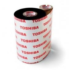 Toshiba TEC BEV10083FG4- 83mm x 100m Wax Resin Ribbon