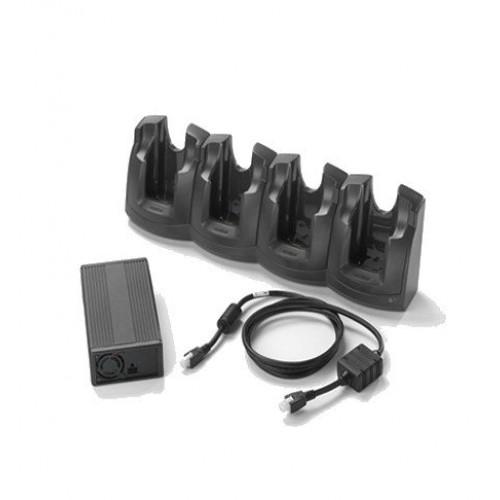 CRD3000-401CES - Zebra MC3XXX 4-Slot Charge Only Cradle Kit (INTL)
