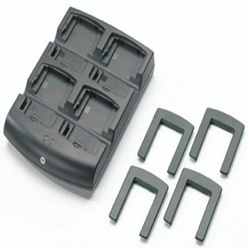 SAC7X00-401CES Zebra 4-Slot Battery Charger Kit (INTL)
