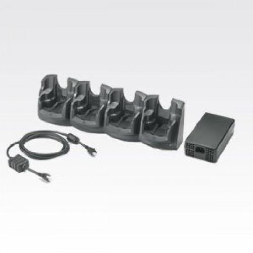 CRD7X00-401CES - Zebra MC70 4-Slot Charge Only Cradle Kit (INTL)