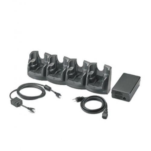 CRD7X00-400CES - Zebra MC70/MC75 4-Slot Charge Only Cradle Kit (US)