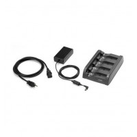 SAC4000-411CES - Zebra 4-Slot Battery Charger Kit (INTL)