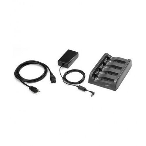 SAC4000-411CES - Zebra 4-Slot Battery Charger Kit (INTL)