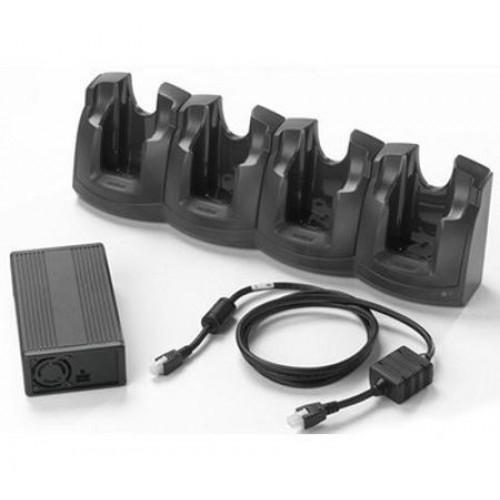 CRD3X01-401EES - Zebra 4 Slot Ethernet Charge Cradle Kit for MC30/MC31/MC32