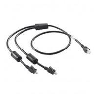 25-122026-02R - Zebra 2 Way DC Cable