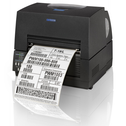 "Citizen CL-S6621 6"" Thermal Transfer Desktop Label Printer"