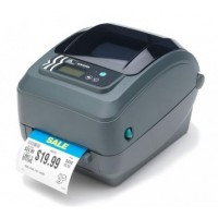 "Zebra GX420t 4"" Thermal Transfer Desktop Label Printer"