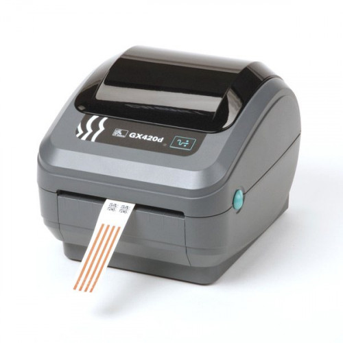 "Zebra GX420d 4"" Direct Thermal Desktop Label Printer"