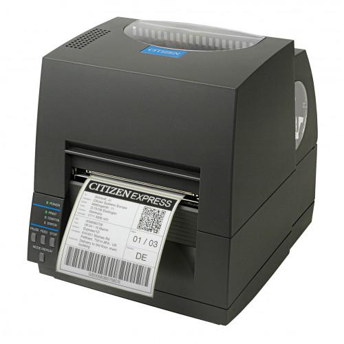 "Citizen CL-S621 4"" Thermal Transfer Desktop Label Printer"