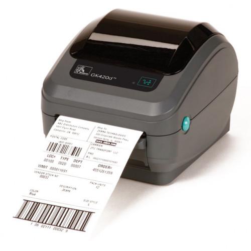 """Zebra GK420d 4"""" Direct Thermal Desktop Label Printer"""