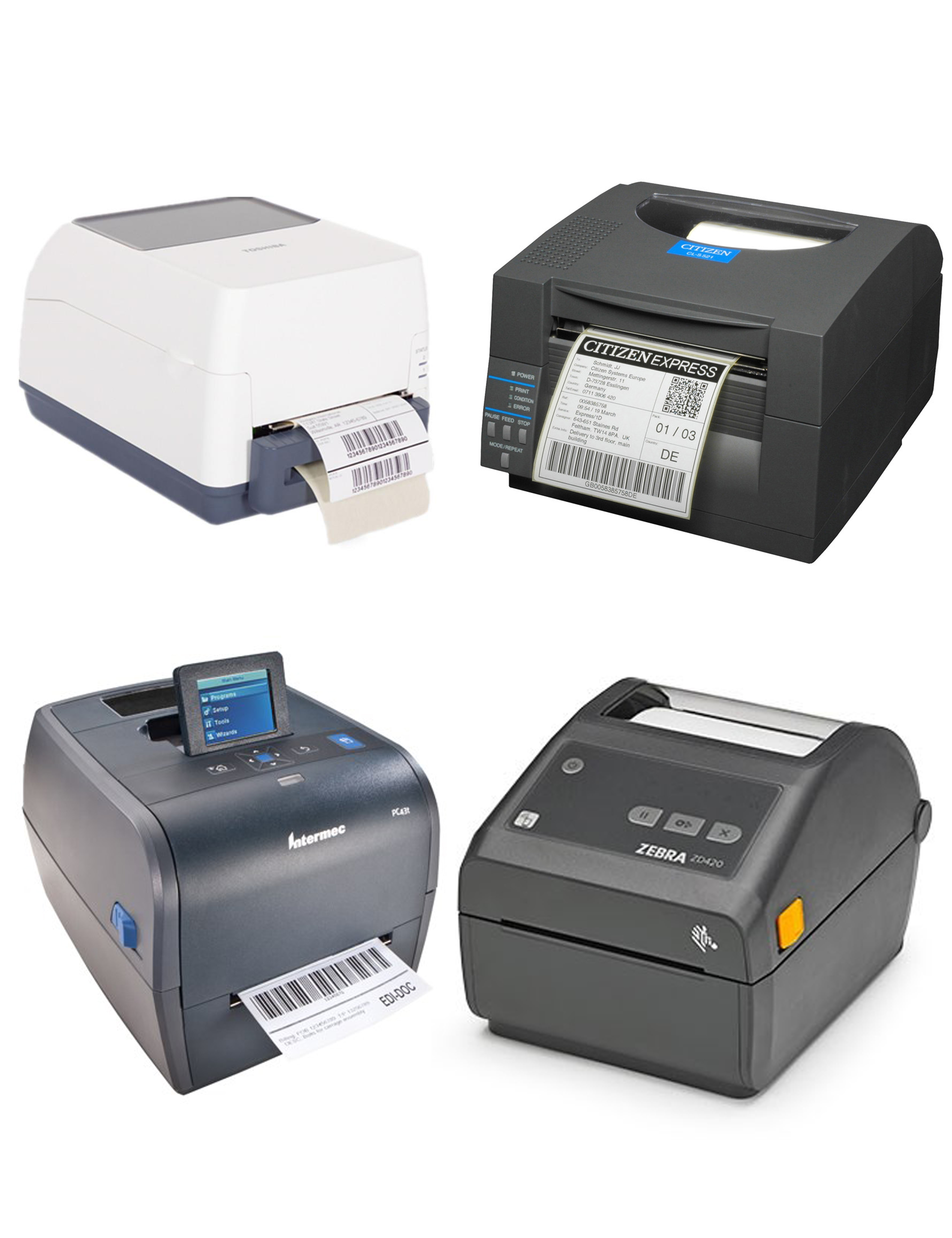 Desktop/Low Volume Label Printers