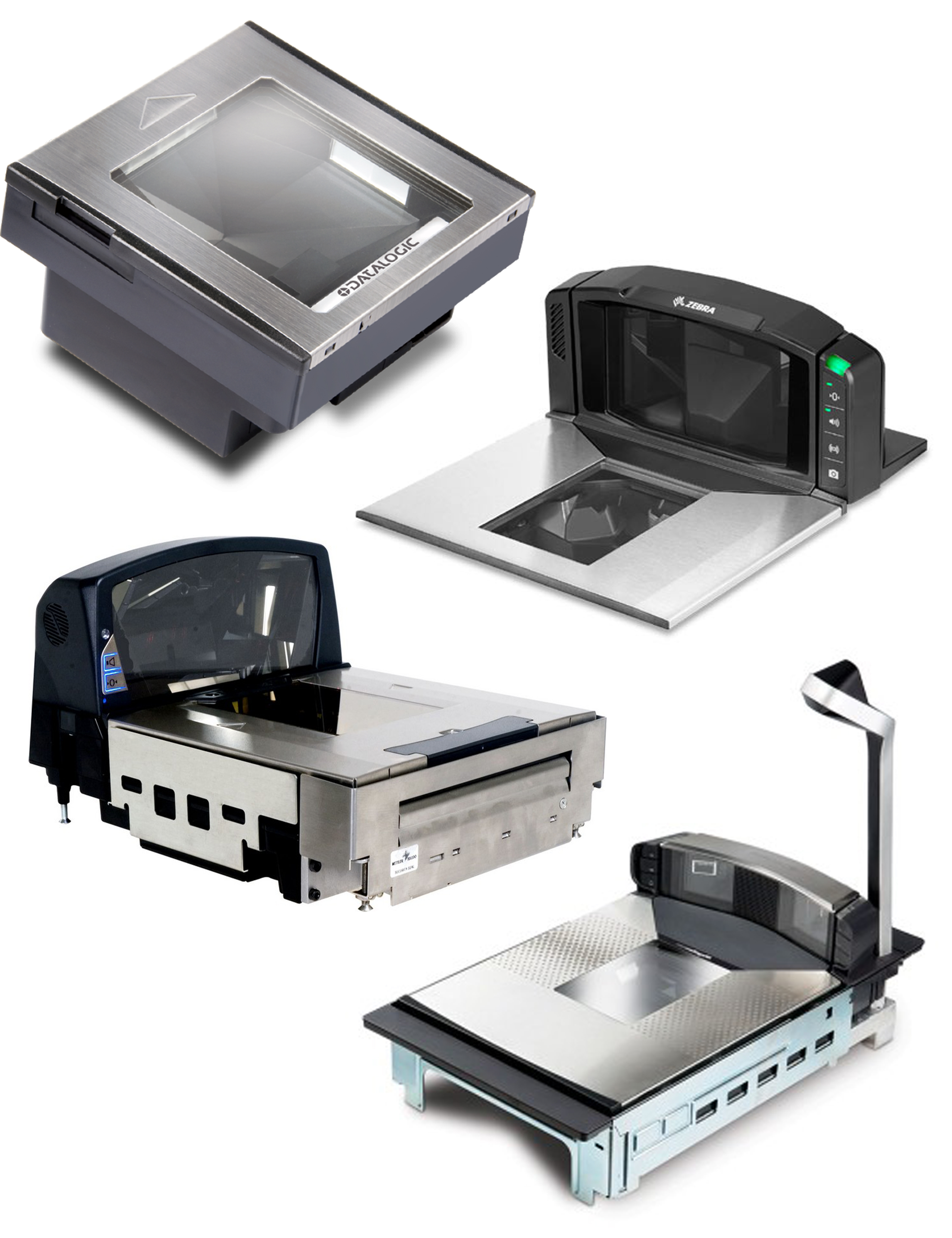 In-Counter Barcode Scanners