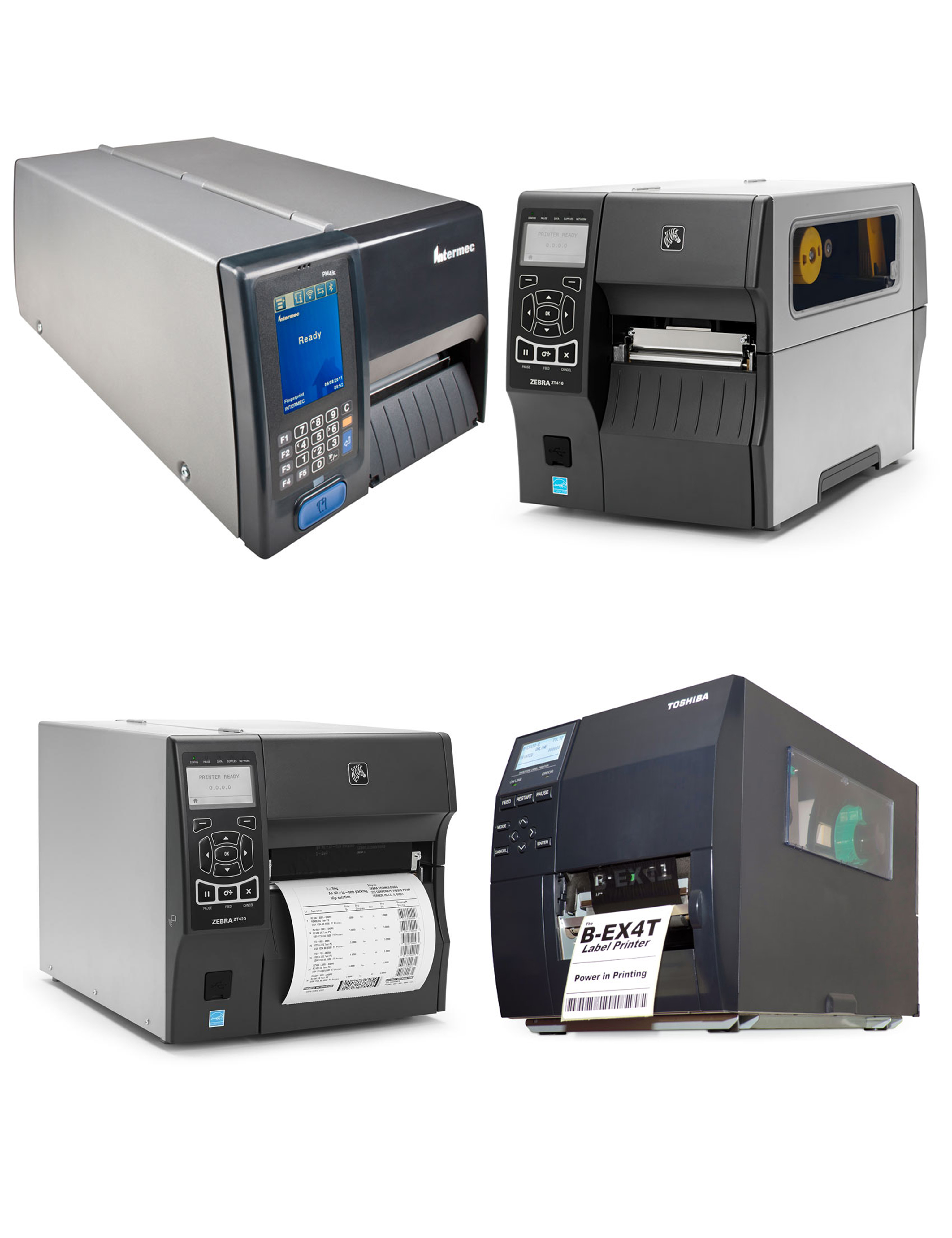 Industrial/High Performance Label Printers