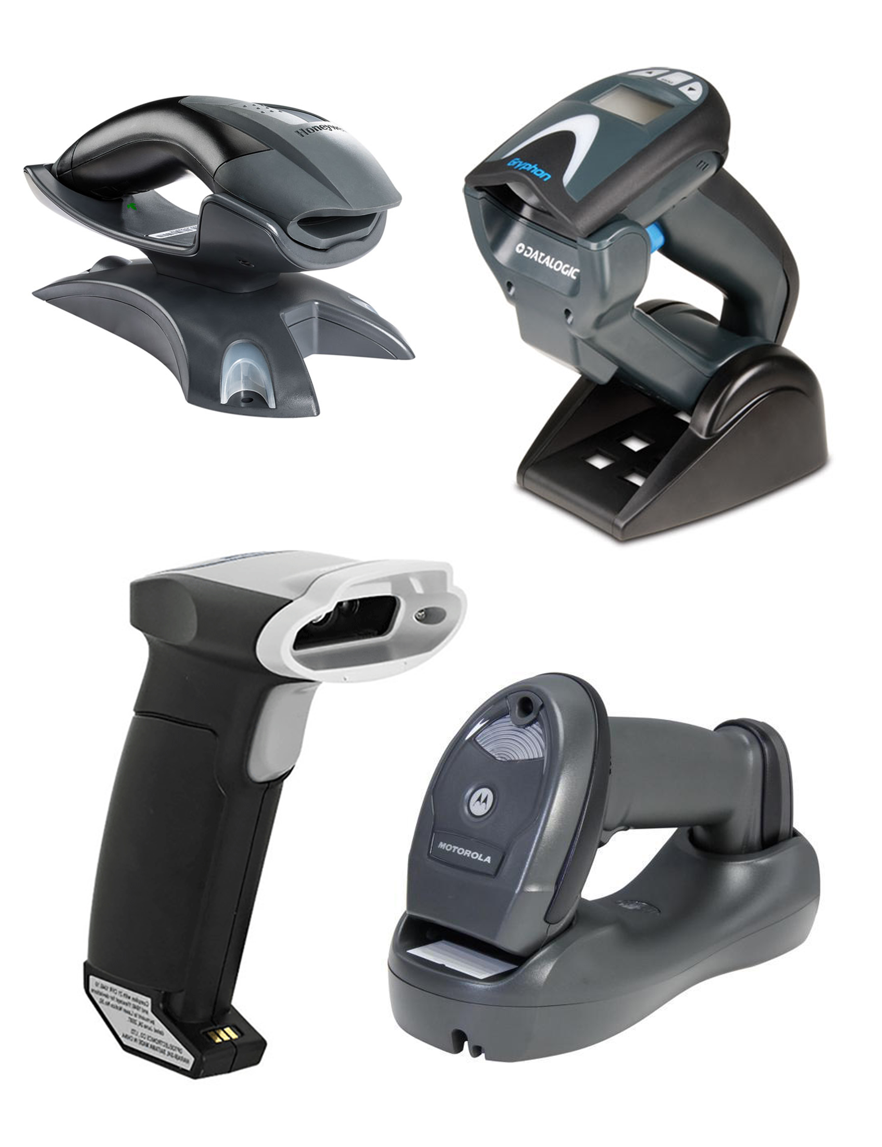Wireless Handheld Barcode Scanners